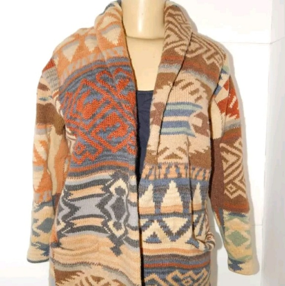 Escultor Bajar Desplazamiento  Sweaters   Rrl Ralph Lauren Hand Knit Southwestern Lambswool   Poshmark